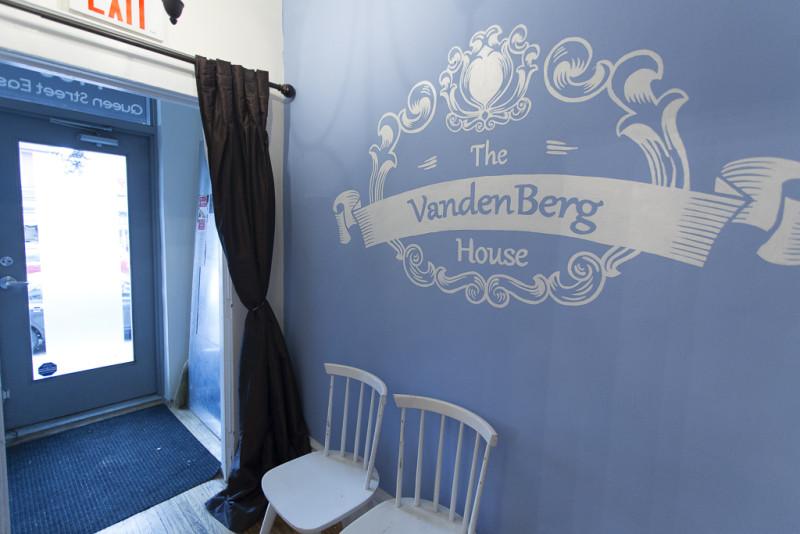 The VandenBerg House logo
