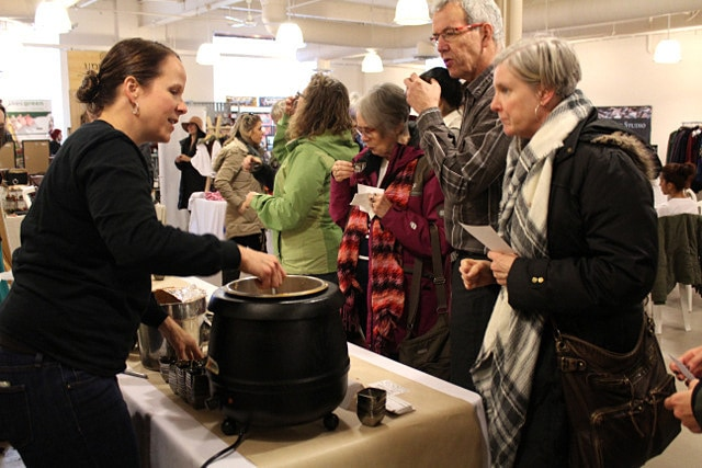 Leslieville's Best Soup Competition Rowe Farms